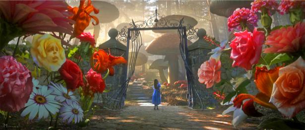Детские обои Алиса в Стране чудес (children-0000044)