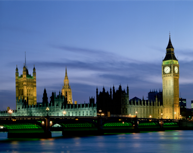 Фотообои Англия, Лондон, Биг Бен, мост (city-0000011)