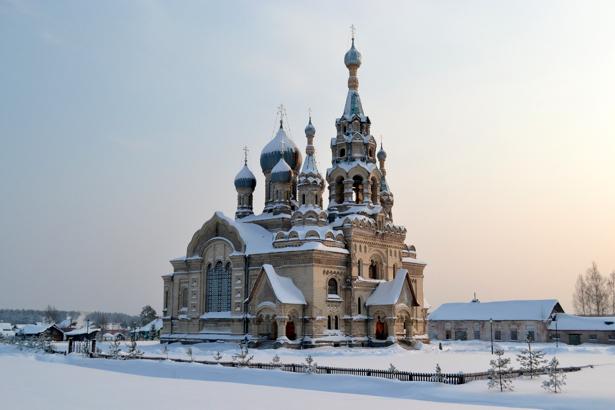 Фотообои ярославская область зима Россия (city-0000087)