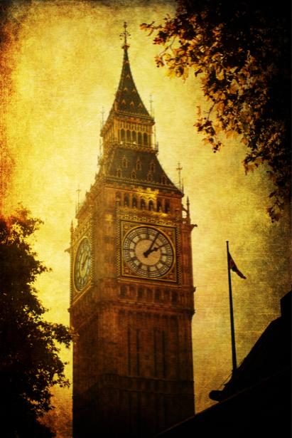 Фотообои Лондон Англия часы Биг Бен (city-0000392)