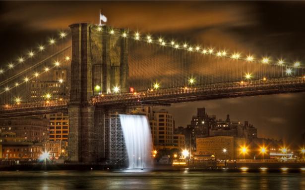 Фотообои Бруклинский мост и Манхэттен (city-0000442)
