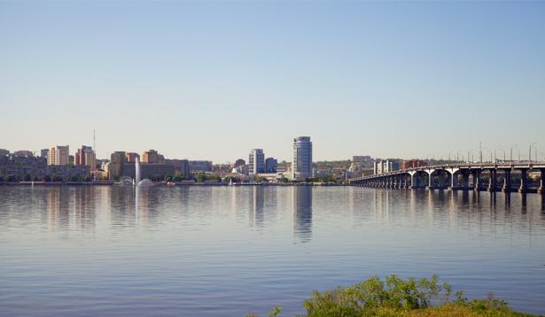 Днепропетровск Днепр Украина Фотообои (city-0000832)