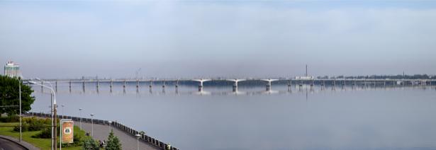 Днепропетровск панорама Фотообои Украина (city-0000860)
