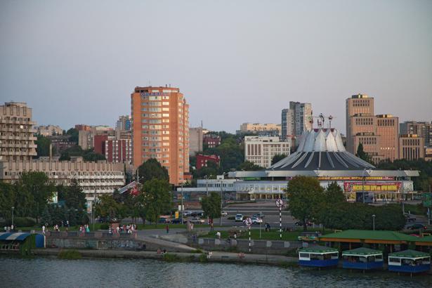 Фотообои Днепропетровск цирк (city-0000913)