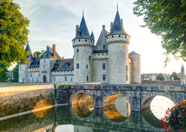 Фотообои Замок Сюлли-сюр-Луар (city-0001409)
