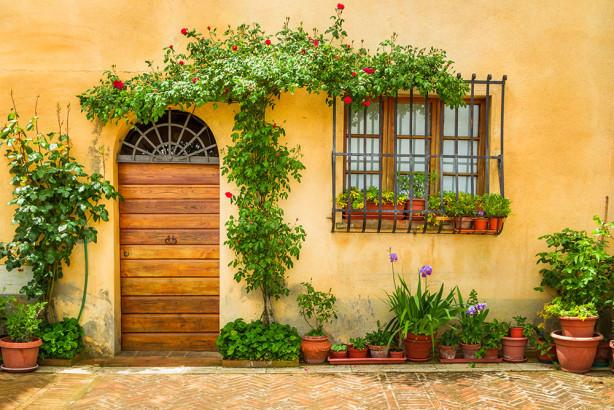 фотообои с дверью (door6)