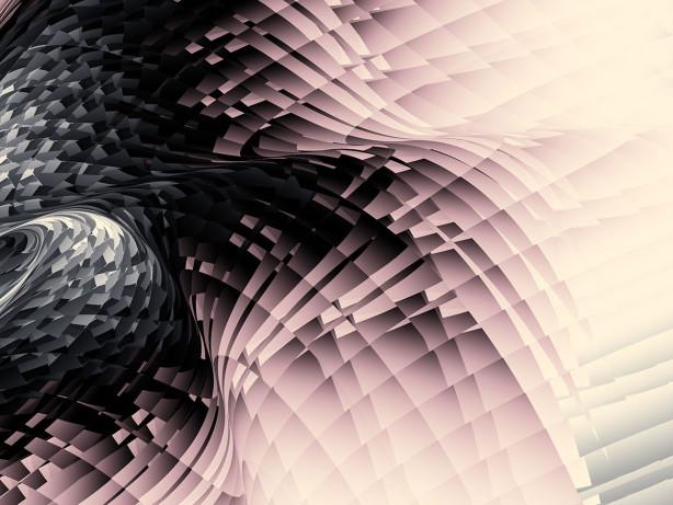 Фотообои Розовая волна (loft-21)
