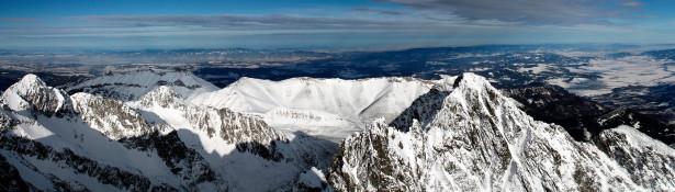 Фотообои с природой горный пейзаж вершины (nature-00050)