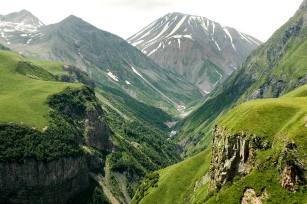 Фотообои пейзаж фото с горами (nature-00483)