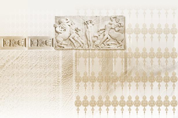 Фотообои Греция в спальню орнамент (printmaking-0000011)