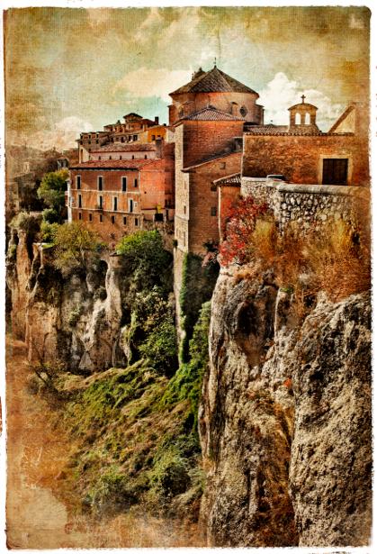 Фотообои город в Европе (retro-vintage-0000140)