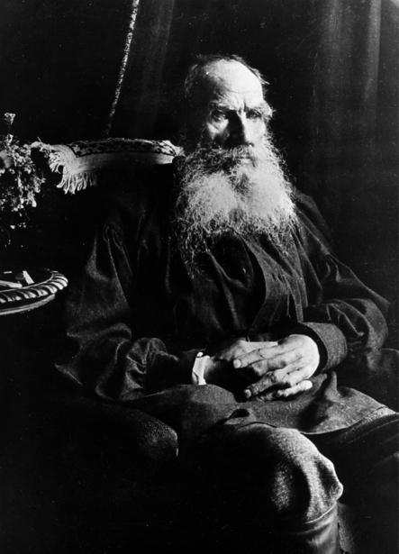 Лев Толстой, русский писатель (retro-vintage-0000306)