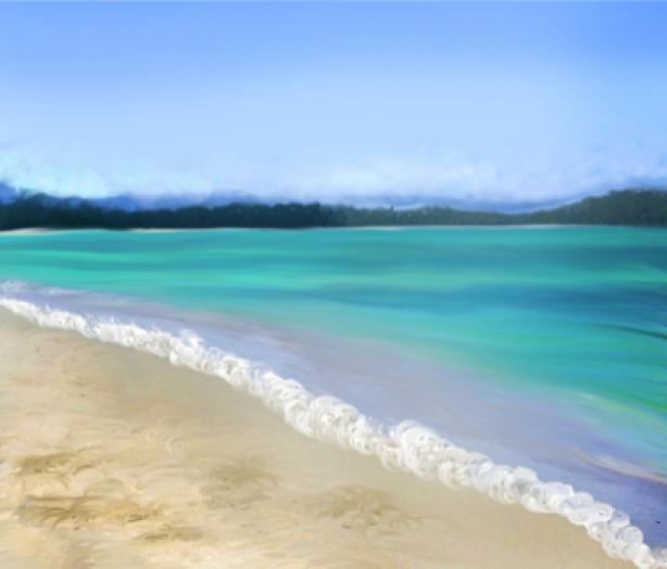 Фотообои картина море берег (sea-0000118)