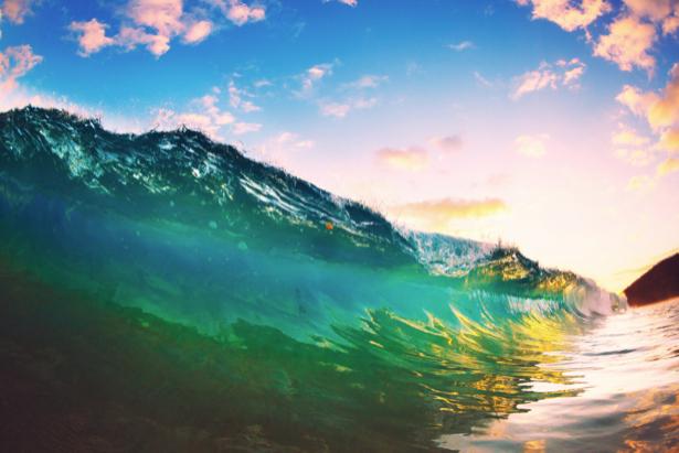 Фотообои море изумрудная волна (sea-0000366)