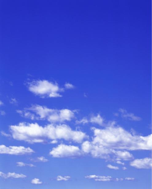 Фотообои красивое небо днём тучки (sky-0000013)