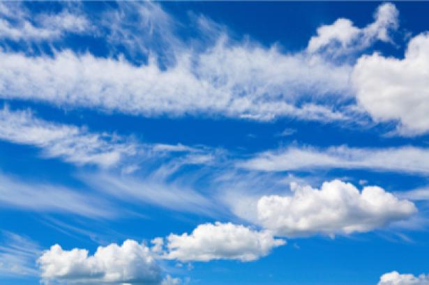 Фотообои облака на небе обои (sky-0000057)