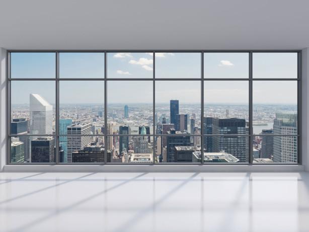 Фотообои вид на Манхэттен из окна (win-3)