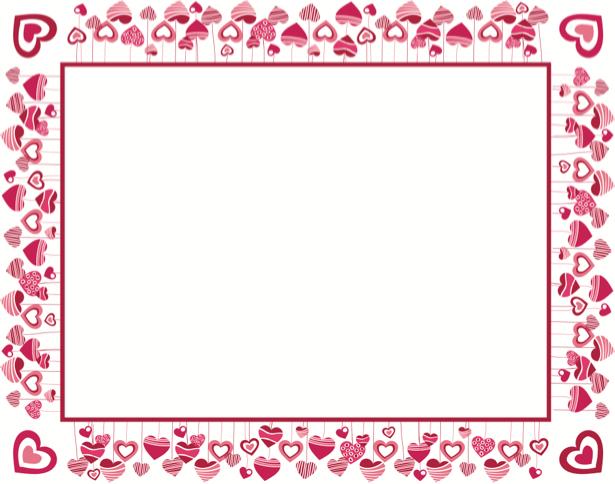 Скатерть Сердечки 14 февраля (0039)