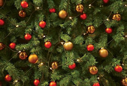 Cкатерть Новогодняя елочка (207)