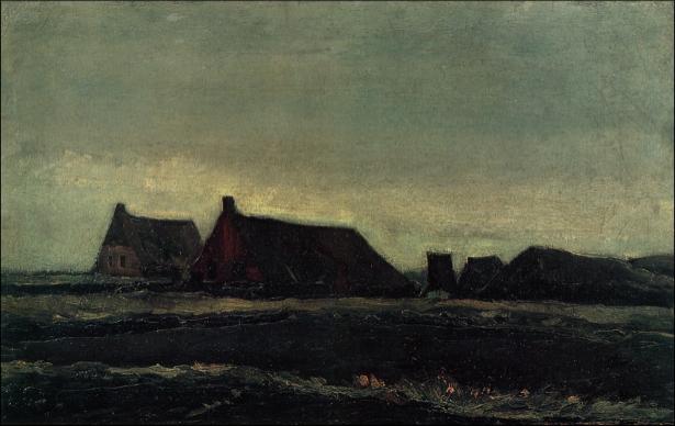 Ван Гог пейзаж (art-0000185)