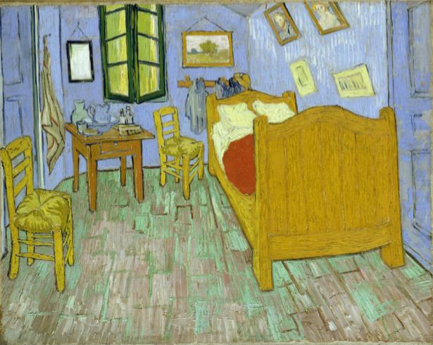 Ван Гог композиция комната (art-0000294)