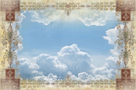 Фотообои небо на потолок (ceiling-20)