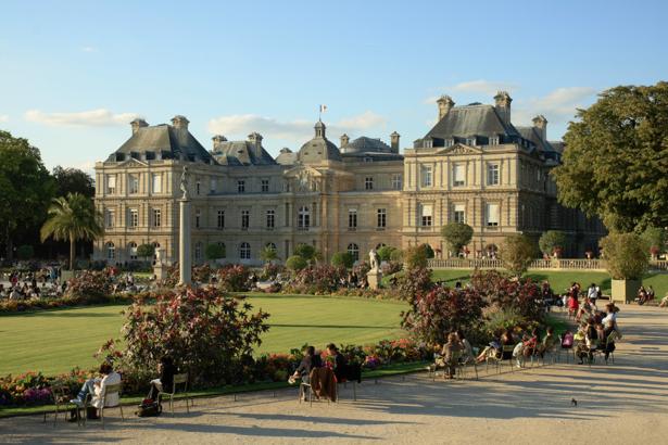Фотообои Люксембургский дворец, Франция, Париж (city-0000266)
