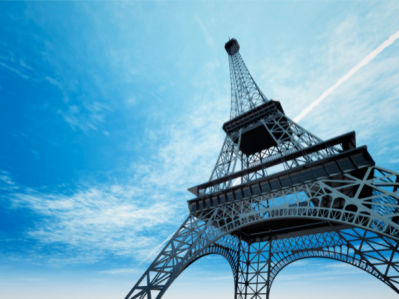 Эйфелева башня - Фотообои (city-0000278)