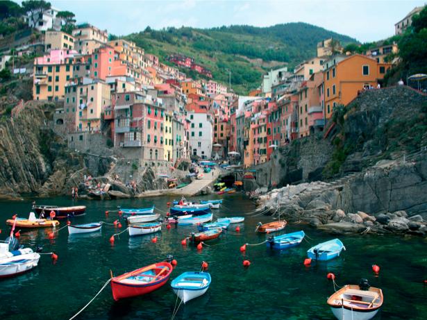 Фотообои Италия бухта гондола (city-0000480)