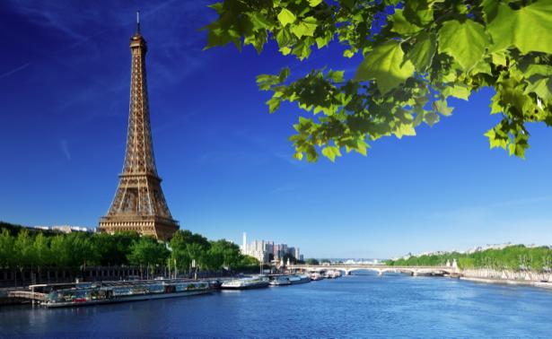 Фотообои Париж Эйфелевая башня (city-0000669)