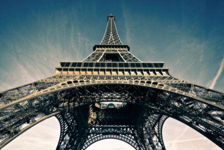 Фотообои Эйфелевая башня, Париж, Франция (city-0000674)