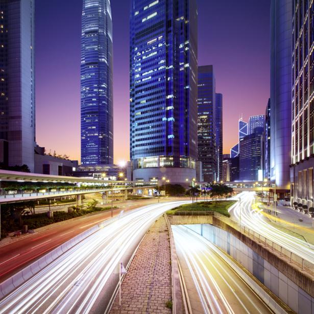 Фотообои мегаполис мост дорога (city-0000778)