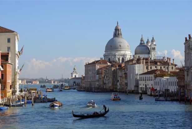 Фотообои Венеция фото лодки (city-0001009)