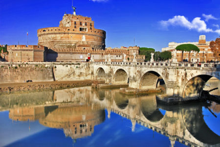 Фотообои Castel Sant'Angelo (city-0001111)