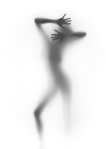 Фотообои фигура девушки на просвет (glamour-0000155)