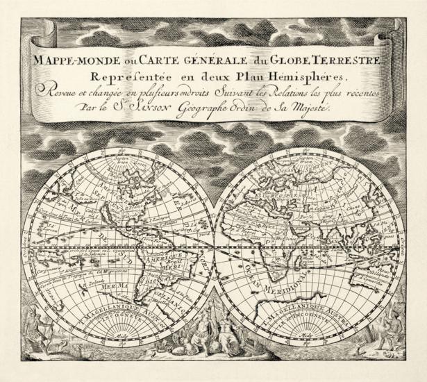 атлас, география, карты, старая карта (map-0000130)