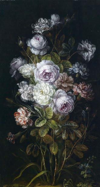 Картина куст цветов (pf-144)