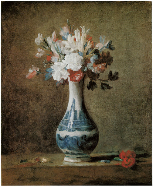 Жан-Батист Симеон Шарден натюрморт с вазой (pf-31)