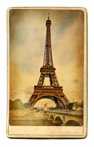 Фотообои Эйфелева башня винтаж (retro-vintage-0000151)