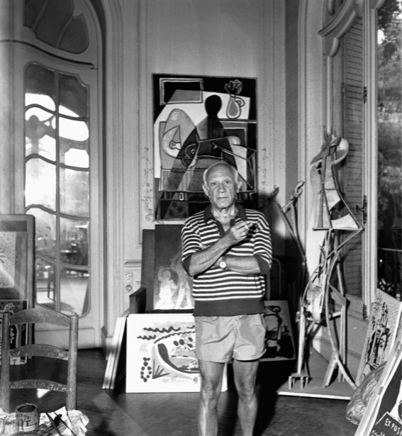 Фотообои Пабло Пикассо (retro-vintage-0000262)