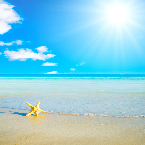 Фотообои море берег звезда (sea-0000160)