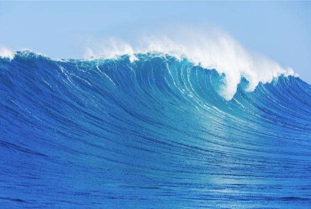 Фотообои море волна обои (sea-0000368)