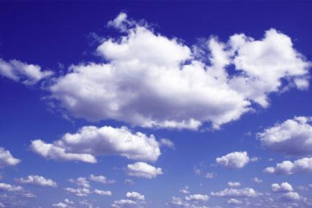 Фотообои небо с облаками пушистыми (sky-0000144)