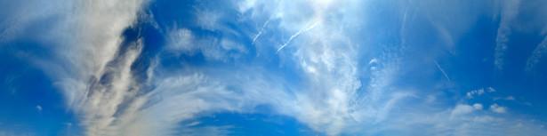 Фото обои панорама неба с облаками (sky_0000009)