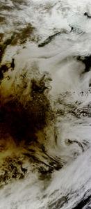 Фотообои молочные облак (terra-00003)
