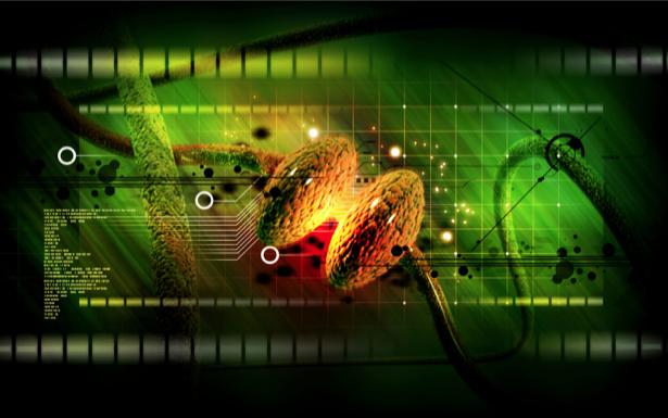 Фотообои генная инженерия абстракция (background-0000273)