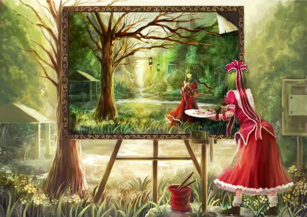 Детские фотообои аниме сказка (children-0000114)