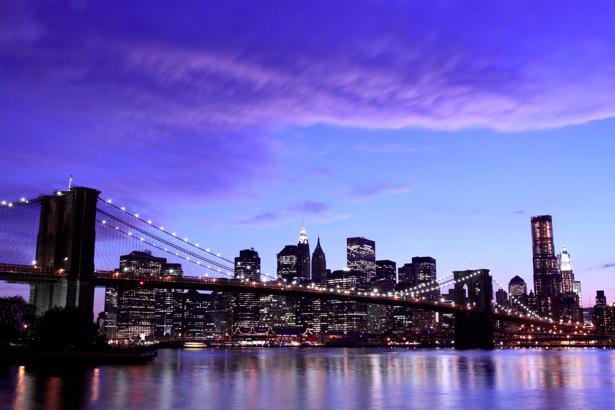 Фотообои Бруклинский, мост, Нью-Йорк, США (city-0000099)