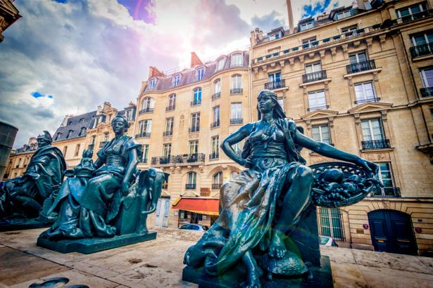 Фотообои Лувр Париж Франция (city-0000529)