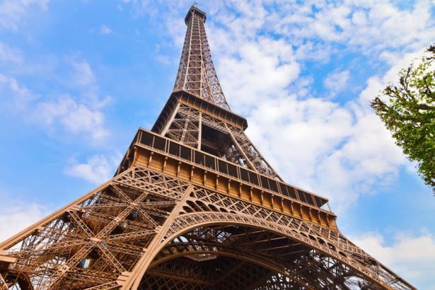 Фотообои Эйфелевая башня, Париж, Франция (city-0000673)